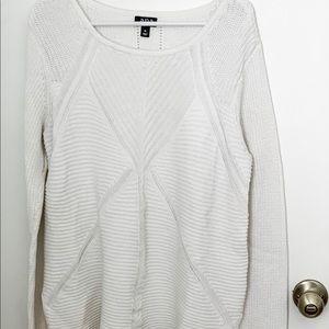 Cream colored, a.n.a hi-low sweater, xl